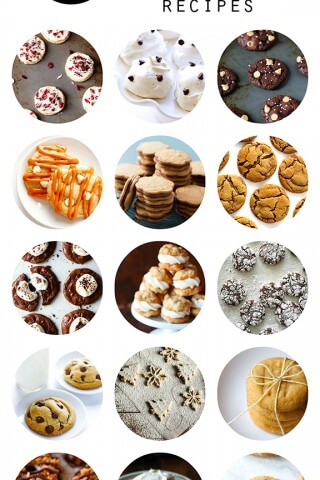 15 Holiday Cookie Recipes | gimmesomeoven.com