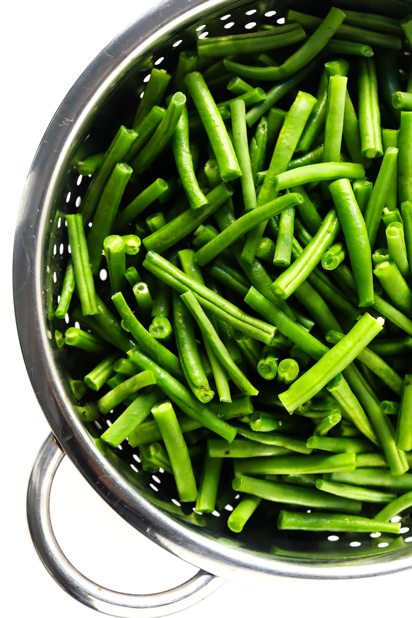 Fresh Green Beans   Healthy Green Bean Casserole Recipe