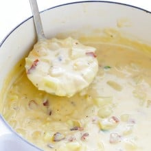 Potato Soup | gimmesomeoven.com