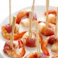 Prosciutto Wrapped Shrimp | gimmesomeoven.com