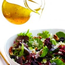 White Balsamic Vinaigrette | gimmesomeoven.com #vegan #glutenfree