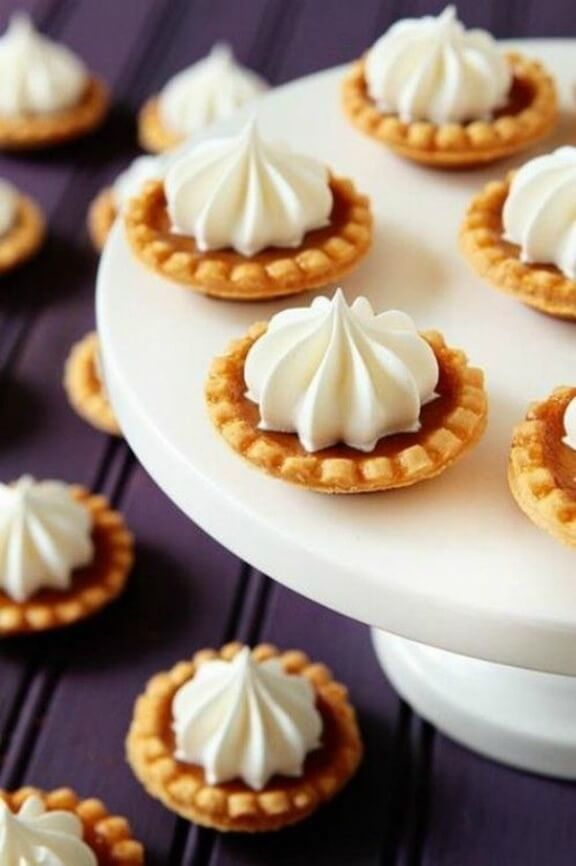 Mini Pumpkin Pies | mybakingaddiction.com