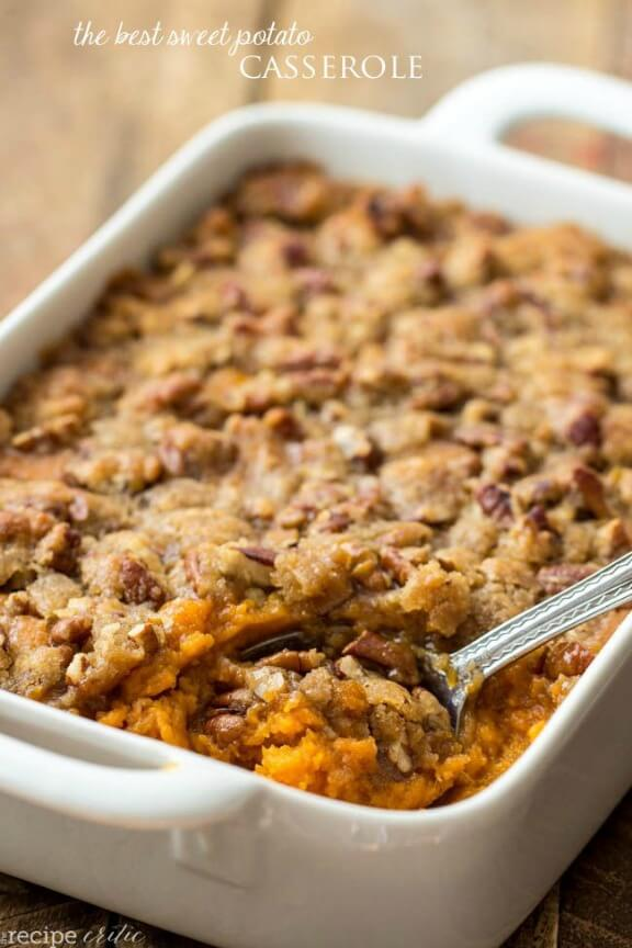 The Best Sweet Potato Casserole | therecipecritic.com