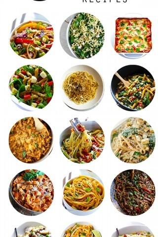 15 Pasta Recipes | gimmesomeoven.com