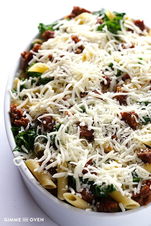 Sausage And Kale Pasta Bake Recipes — Dishmaps
