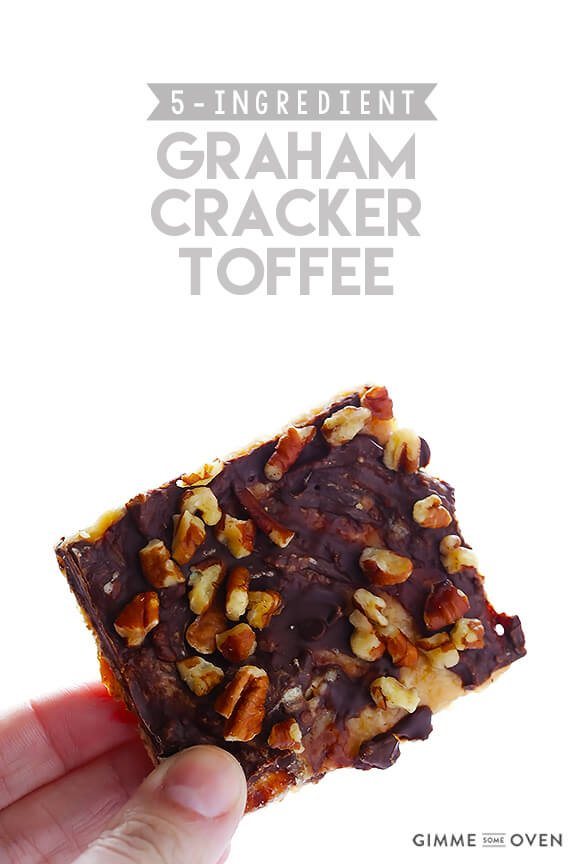 5 Ingredient Graham Cracker Toffee Gimme Some Oven