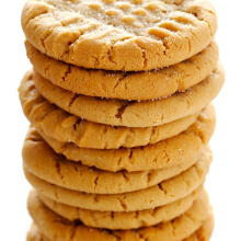 Peanut Butter Cookies | gimmesomeoven.com