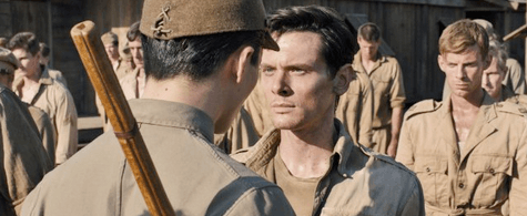 Jack O'Connell in Angelina Jolie's Unbroken. © 2014 - Universal Pictures