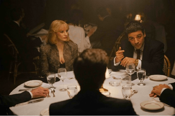 Jessica Chastain and Oscar Isaac in J.C. Chandor's A Most Violent Year. Photo by Atsushi Nishijima.