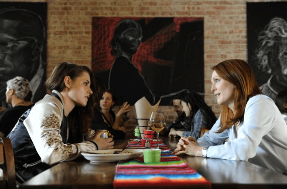 Kristen Stewart and Julianne Moore in Still Alice, directed by Richard Glatzer and Wash Westmoreland.