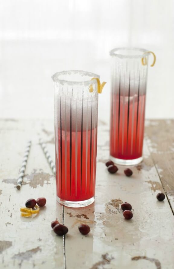 Cranberry Orange Cooler | jellytoastblog.com