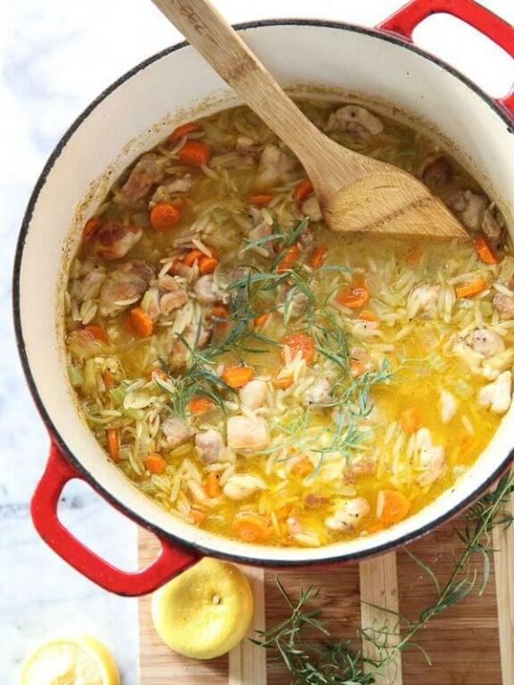 Lemon Chicken Stew   foodiecrush.com