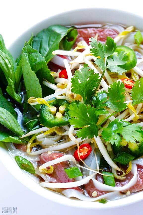 Vietnamese Pho Soup | gimmesomeoven.com