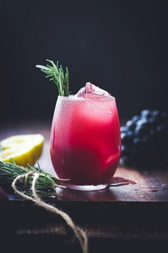 Zinfandel, Grape, Rosemary Gin Crush | The Bojon Gourmet