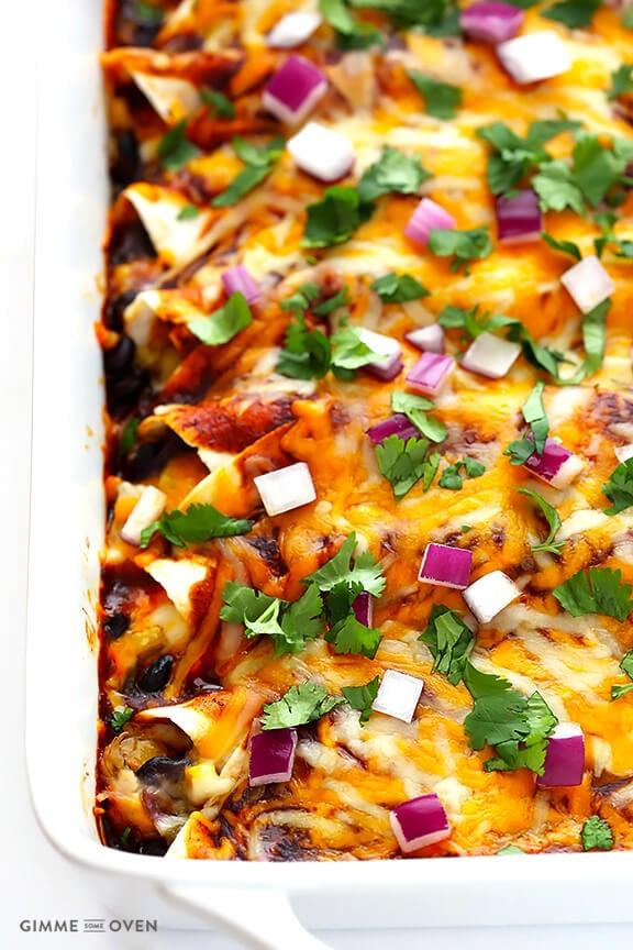 Bbq Chicken Enchiladas Gimme Some Oven