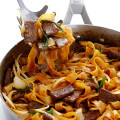 Beef Chow Fun (Beef & Noodles Stir-Fry) Recipes | gimmesomeoven.com