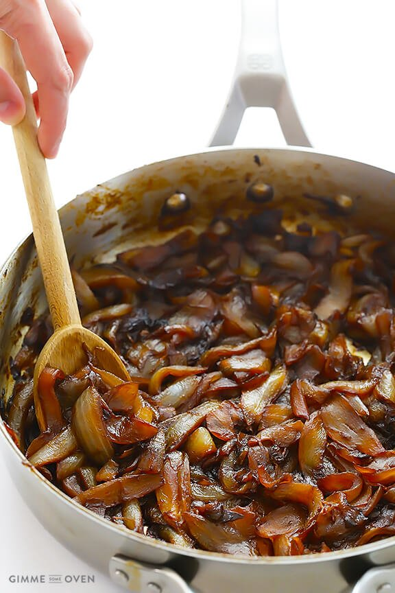Caramelized Onions | gimmesomeoven.com