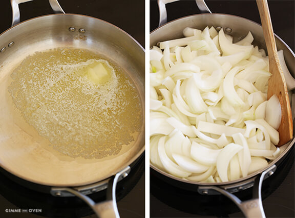 How To Make Caramelized Onions -- a step-by-step tutorial | gimmesomeoven.com