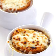 French Onion Soup | gimmesomeoven.com
