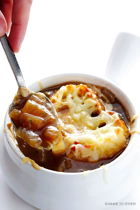 French Onion Soup -- classic, simple, and so comforting ...