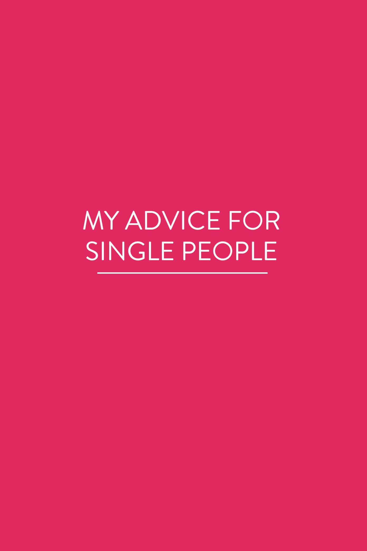 Single advice