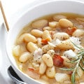7-Ingredient Tuscan White Bean Soup | gimmesomeoven.com