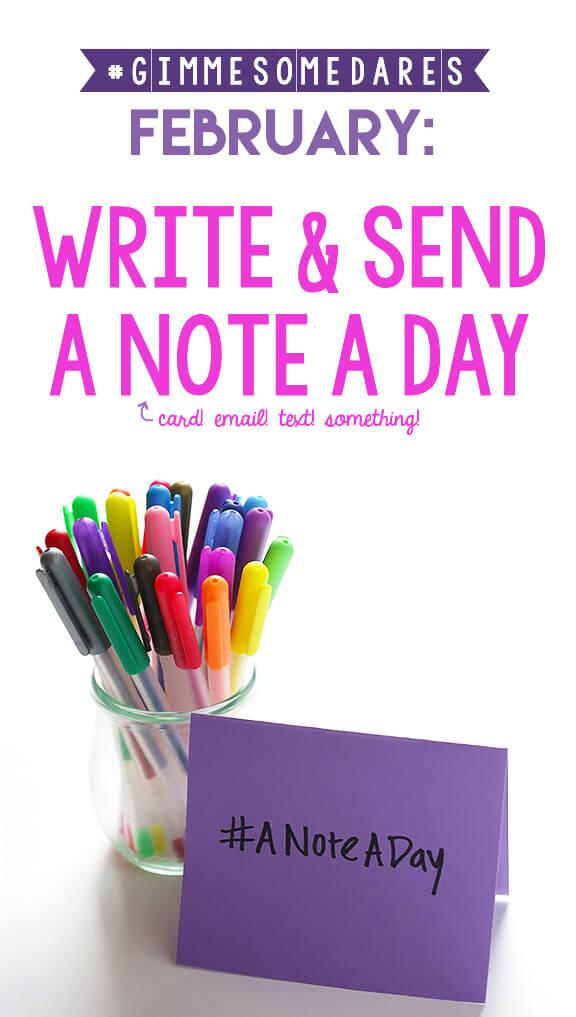 Write & Send A Note A Day