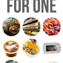 10 Tips On Cooking For One -- delicious and helpful advice on cooking for one (and enjoying it!) | gimmesomeoven.com
