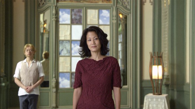 Jacqueline Kim in Jennifer Phang's Advantageous. Photo by Jennifer Phang