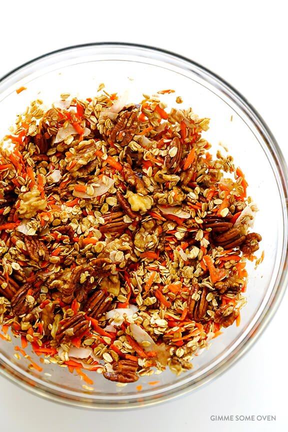 Carrot Cake Granola 8