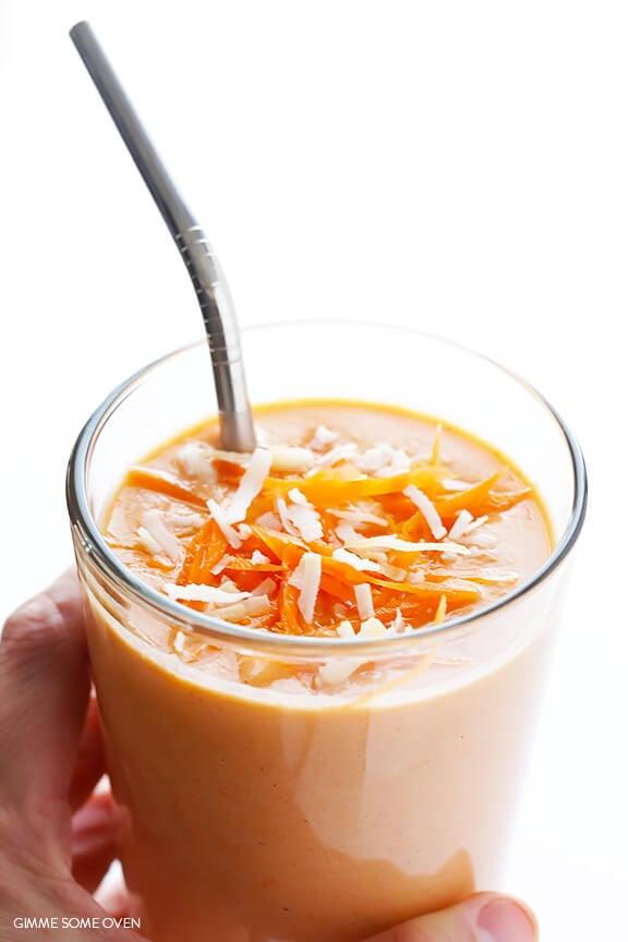 Carrot Cake Smoothie | gimmesomeoven.com