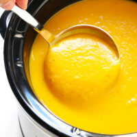 The BEST Butternut Squash Soup Recipe | Crockpot, Instant Pot and Stovetop Instructions Included