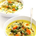 Curried Chicken and Wild Rice Soup   gimmesomeoven.com #glutenfree