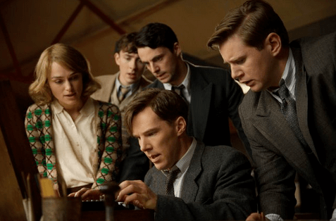 Matthew Beard, Matthew Goode, Keira Knightley, Benedict Cumberbatch and Allen Leech in Morten Tyldum's The Imitation Game. © 2014 - StudioCanal