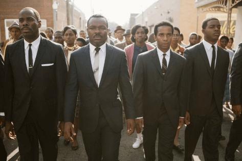 Colman Domingo, David Oyelowo, André Holland and Stephan James in Ava DuVernay's Selma. Photo by Photo credit: Atsushi Nishijima - © 2014 Paramount Pictures.