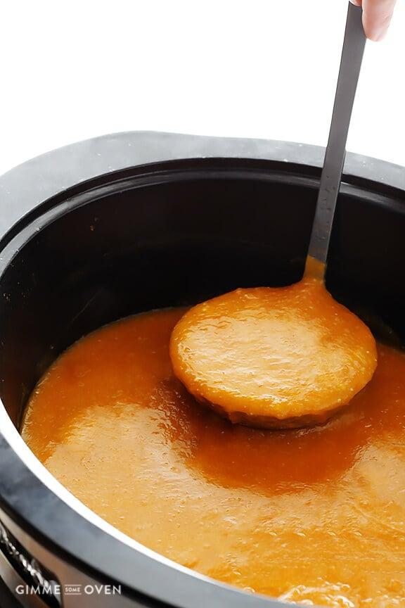 Slow Cooker Butternut Squash Soup 6