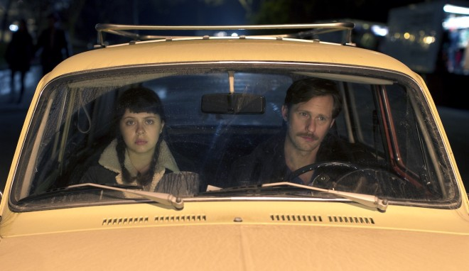 Bel Powley and Alexander Skarsgård in Marielle Heller's The Diary of a Teenage Girl. Photo by Sam Emerson