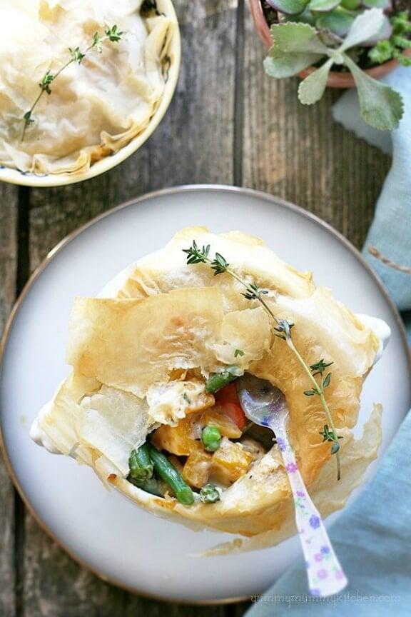 Lighter Pot Pie | swankyrecipes.com