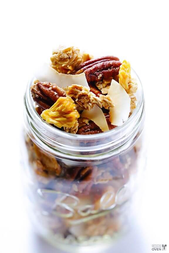 Pina Colada Granola | gimmesomeoven.com