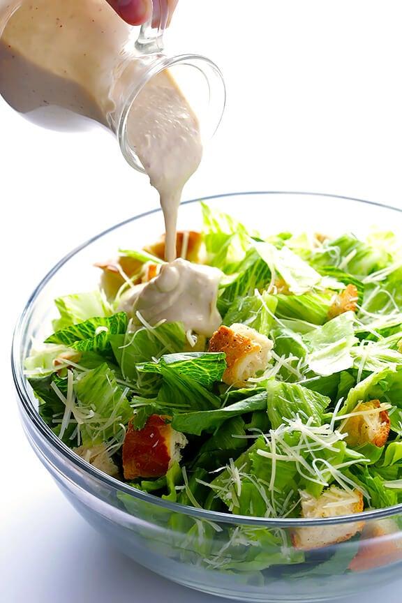 Healthier Caesar Dressing | gimmesomeoven.com