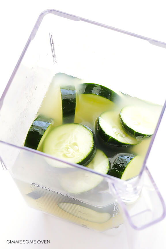 Spicy Cucumber Margaritas Recipe | gimmesomeoven.com