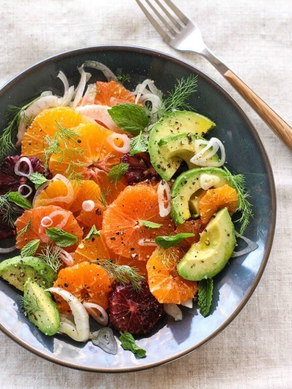 Citrus, Fennel and Avocado Salad | foodiecrush.com