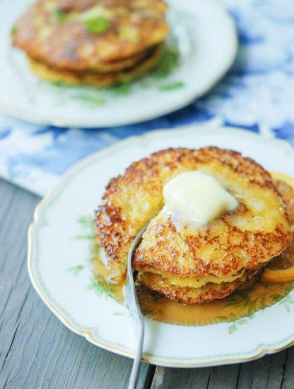 Cornmeal Pancakes: Sweet or Savory | freshtart.com