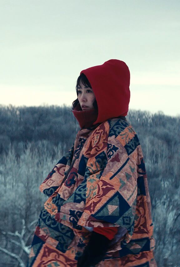 Rinko Kikuchi in David Zellner's Kumiko, the Treasure Hunter