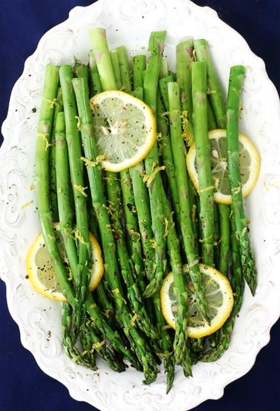 Lemon Pepper Asparagus   gimmesomeoven.com