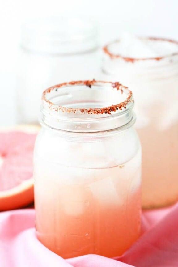 Spicy Grapefruit Margaritas   eatliverun.com