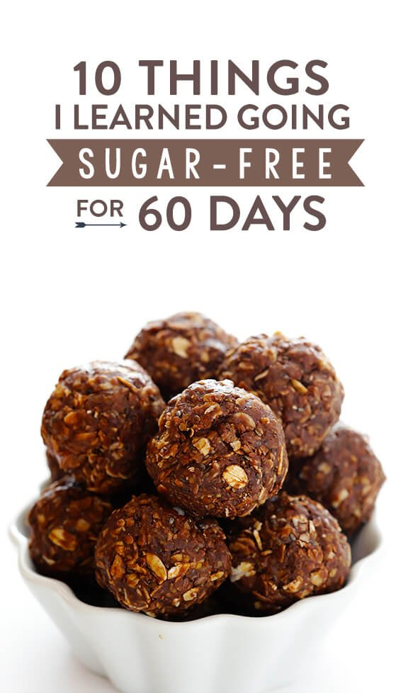 A food blogger's experience with cutting out all refined sugars and grains for 60 days   gimmesomeoven.com