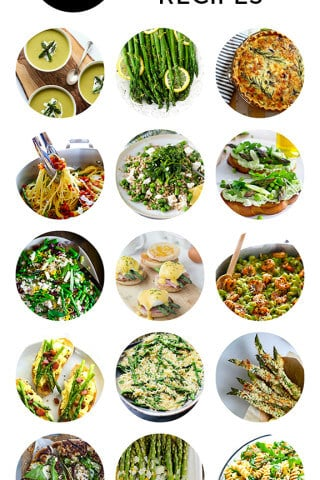 15 Asparagus Recipes | gimmesomeoven.com