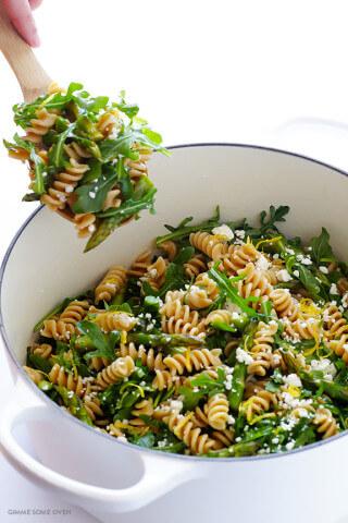 Asparagus Pasta Salad | gimmesomeoven.com