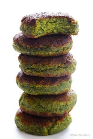 Falafel Recipe -- full of fresh ingredients, easy to make, and irresistibly good! | gimmesomeoven.com